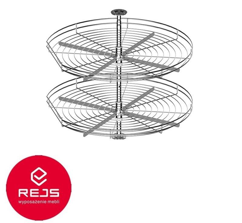 Półka obrotowa metalowa firmy REJS