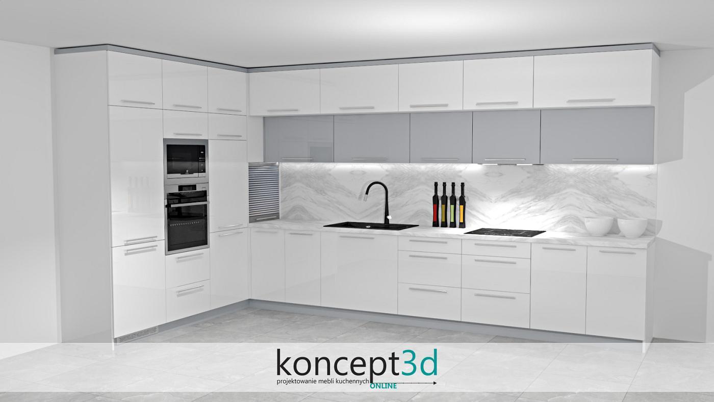 Kuchnia w kształcie litery L - w nowoczesnych kuchniach obowiązkowe będzie zamontowanie solidnego oświetlenia