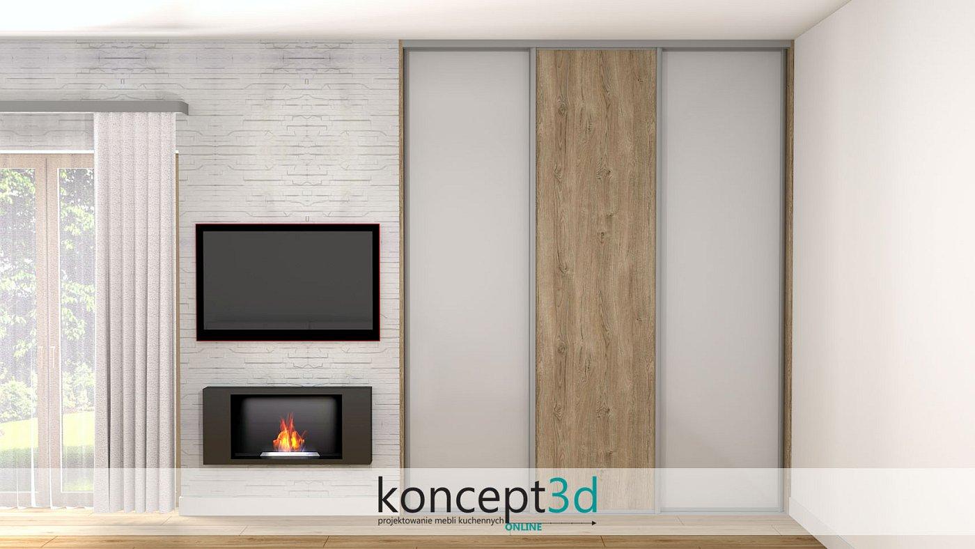 Nowoczesny dom to i nowoczesna szafa z drzwiami lacobel | koncept3d projekty kuchni