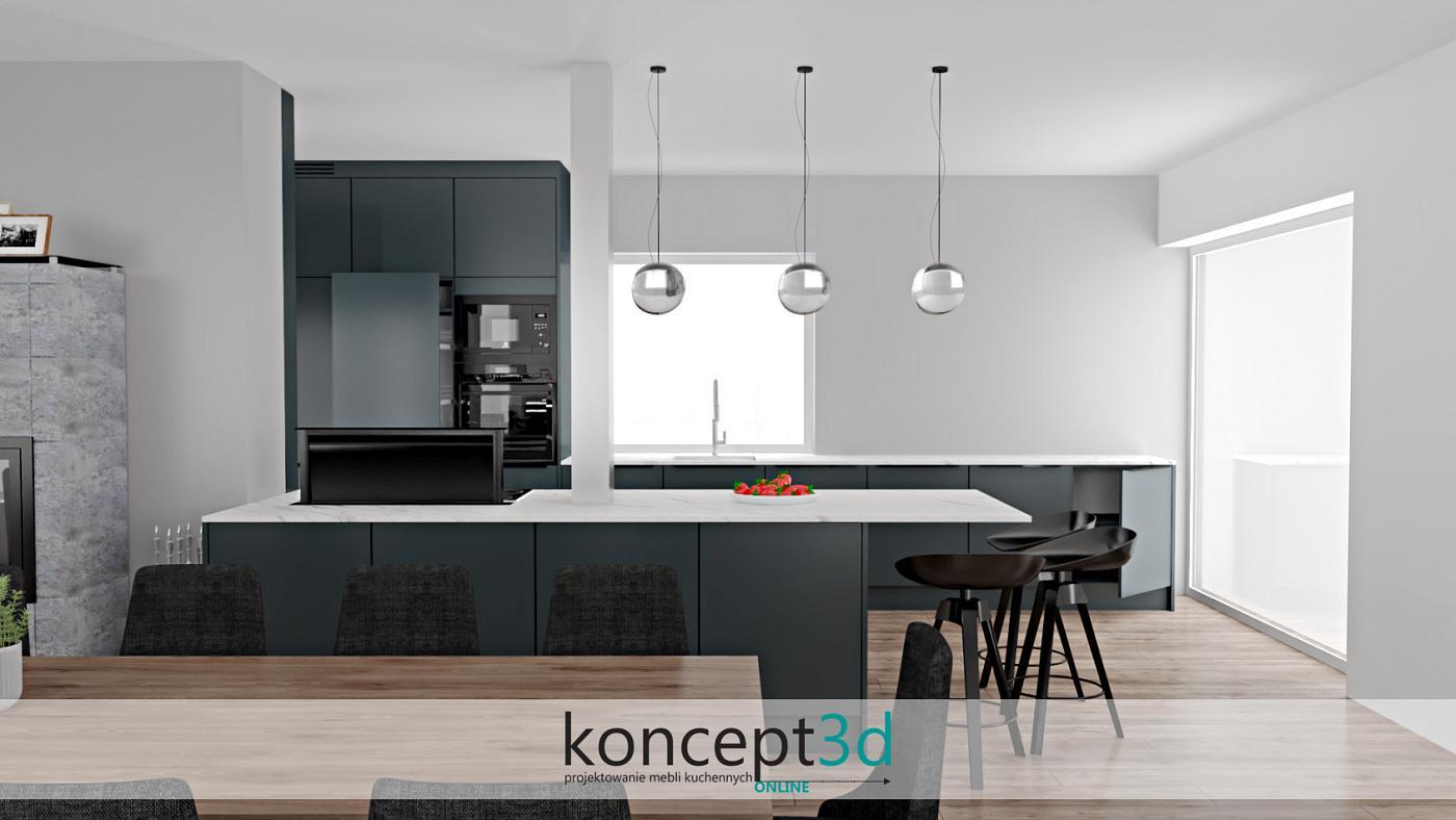 Kuchnia w nowoczesnym stylu to także niestandardowe oświetlenie | koncept3d