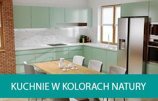 Kuchnie w kolorach natury