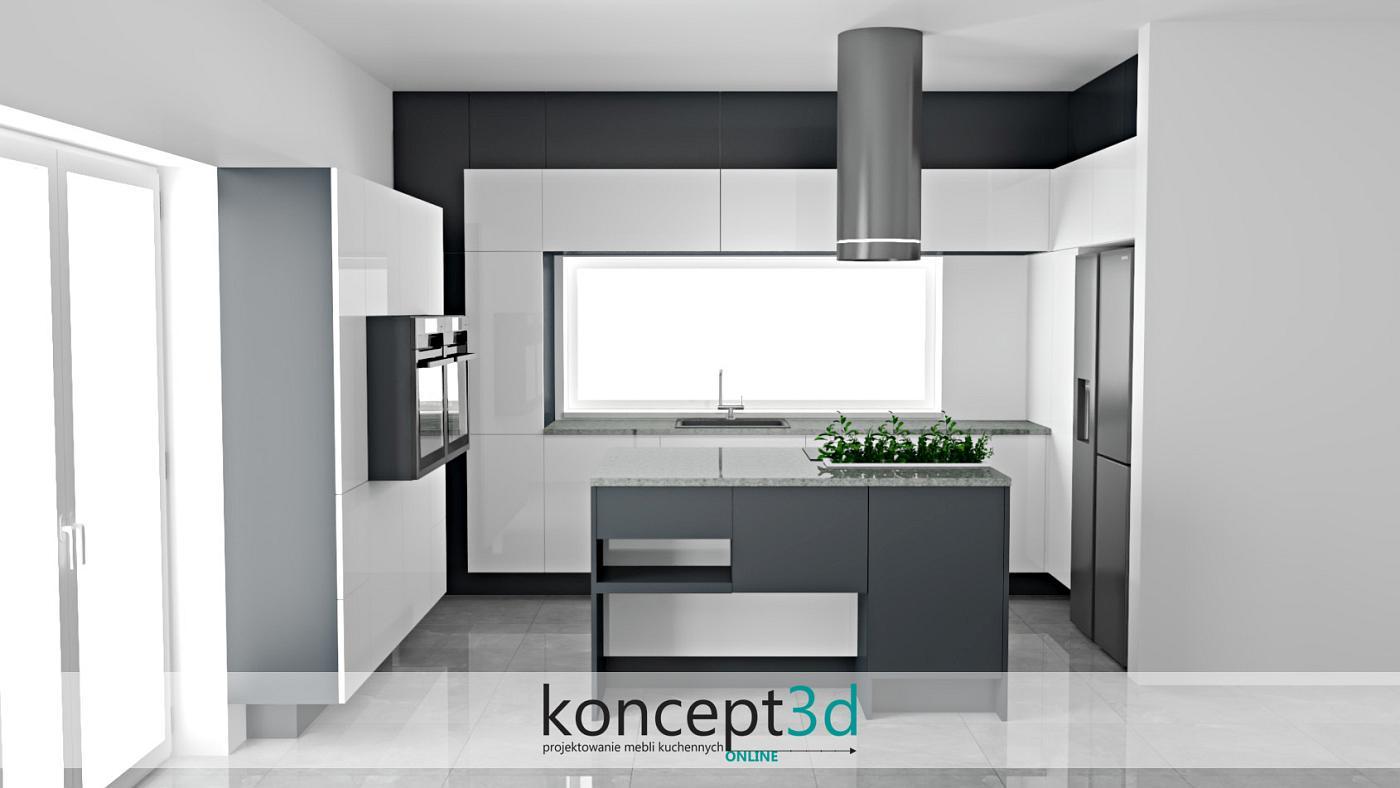 Nowoczesna kuchnia w pełnej okazałości | koncept3d projekty kuchni