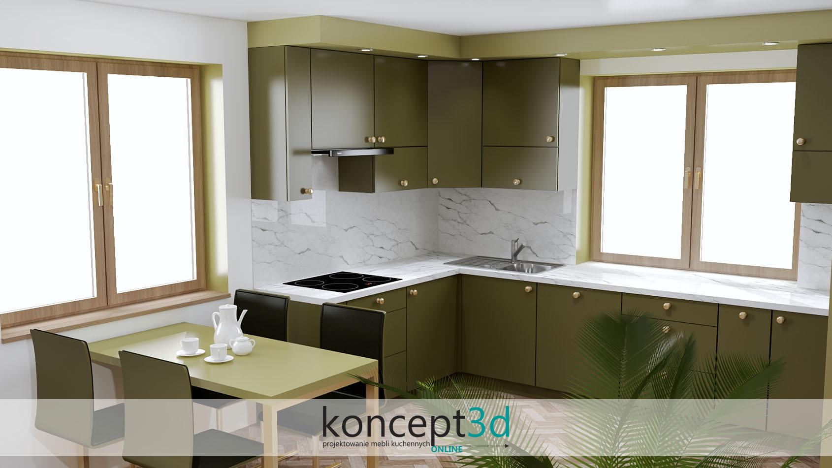 Złote gałeczki w kuchni to minimalistyczna opcja, która swą estetyką urzeka i poprawia nastrój