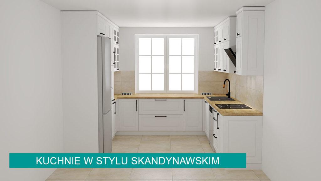 Kuchnie w stylu skandynawskim   koncept3d projekty kuchni