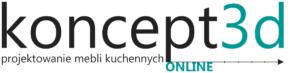 Logo koncept3d.pl | projekty kuchni biertowice