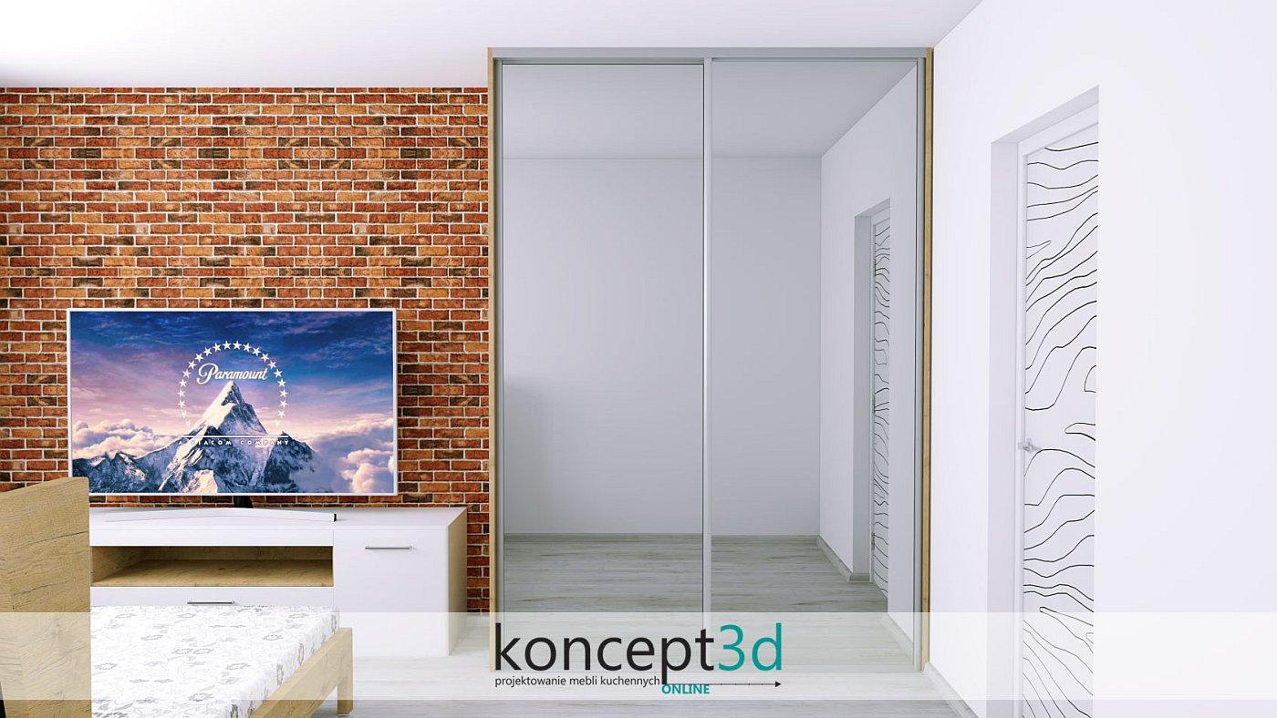 Szklane drzwi przesuwnie optycznie powiększą pomieszczenie i nadadzą mu nowoczesności | koncept3d