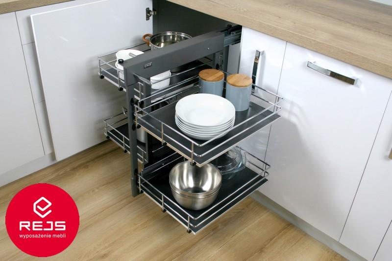 Narożnik w kuchni - magic corner firmy REJS