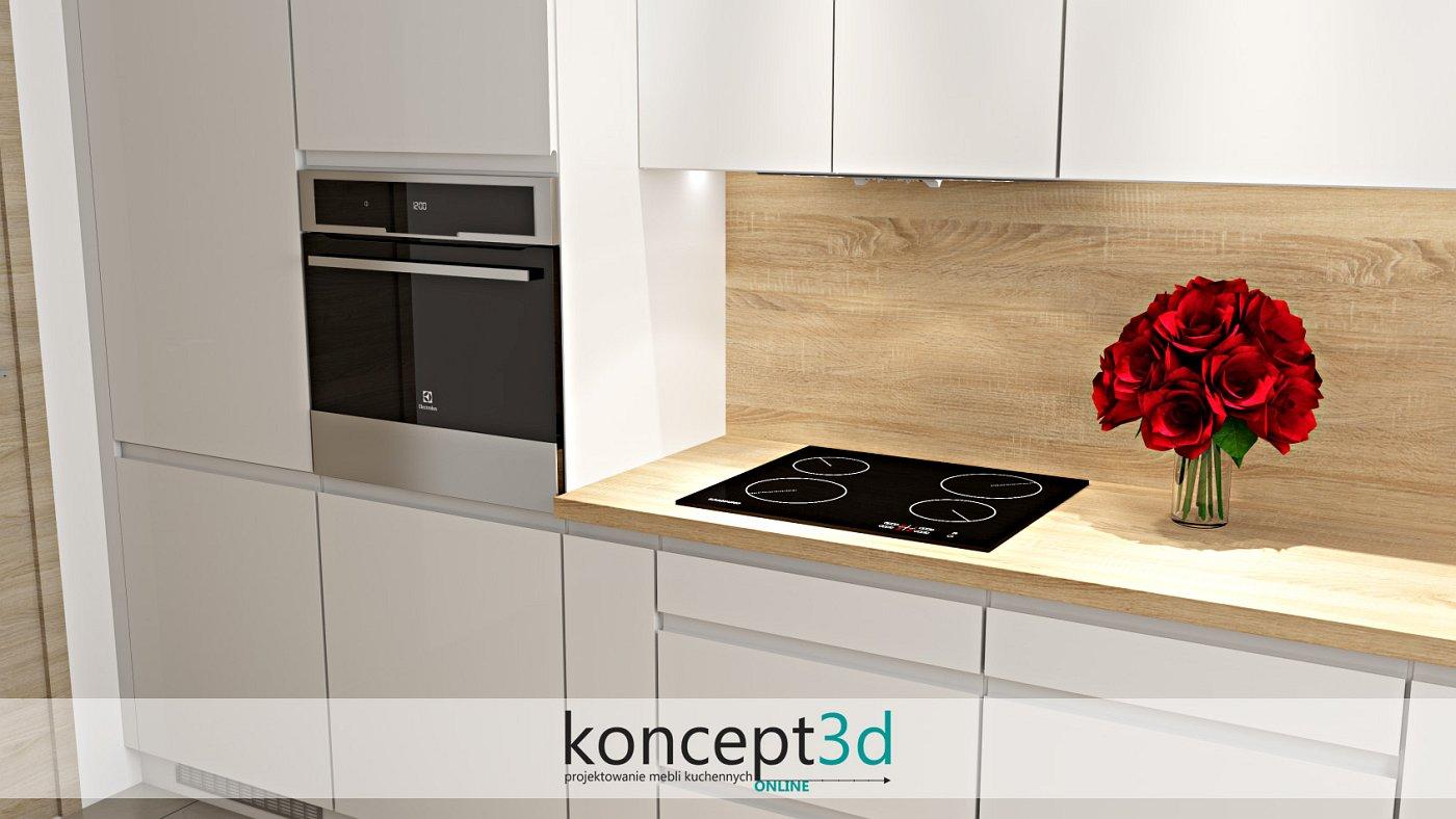 Nowoczesne frezowane uchwyty w szafkach kuchennych | koncept3d projekty kuchni
