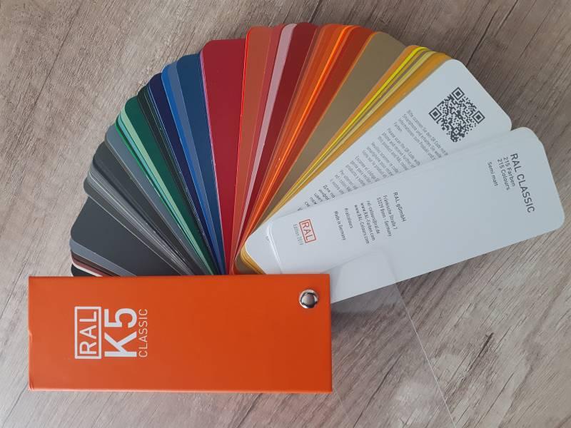 Fronty do szafek kuchennych wzornik lakierów firmy RAL | koncept3d