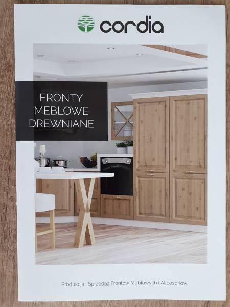 Katalog frontów drewnianych CORDIA | koncept3d