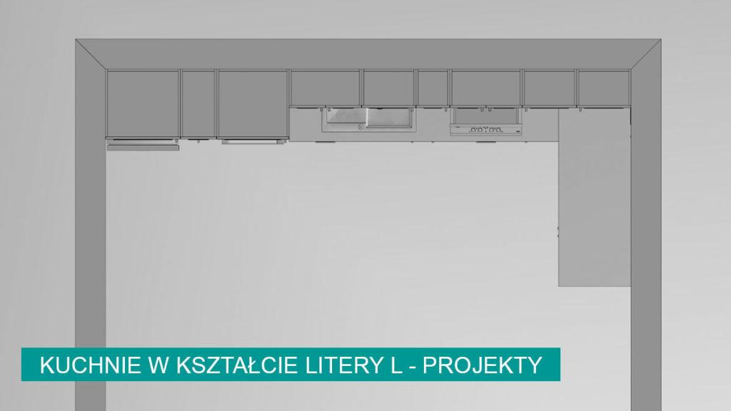 Kuchnie w kształcie litery L aranżacje   koncept3d projekty kuchni