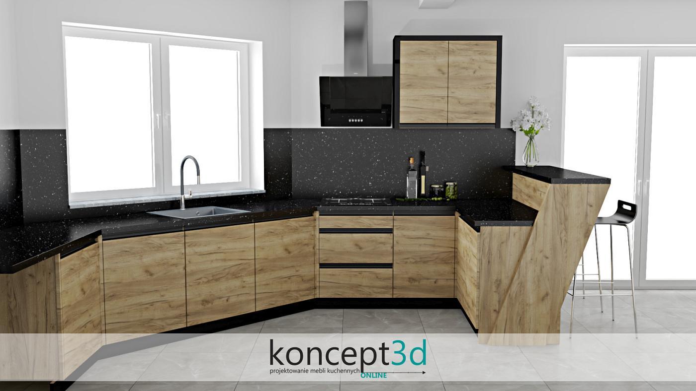 Płyta laminowana to świetne wykończenie frontów kuchennych | koncept3d kuchnie na wymiar