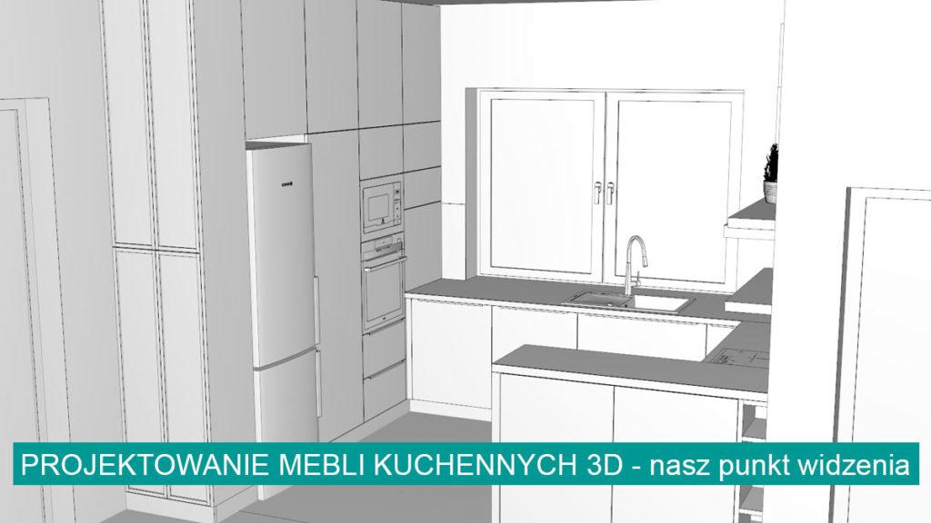 Projektowanie mebli kuchennych 3D | koncept3d