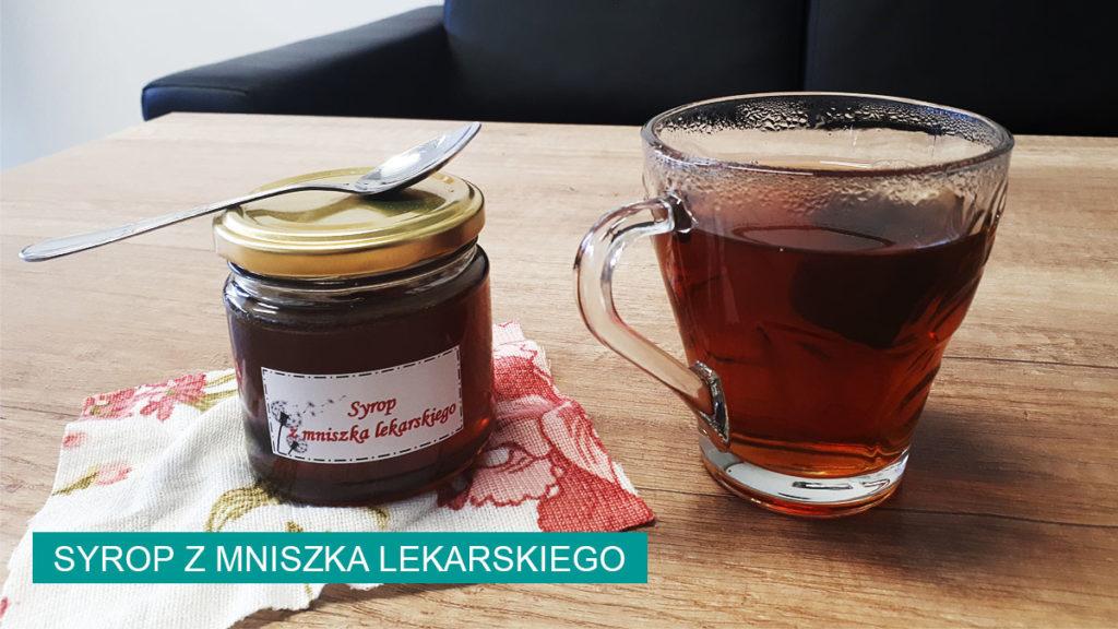 Syrop z mniszka lekarskiego do herbaty