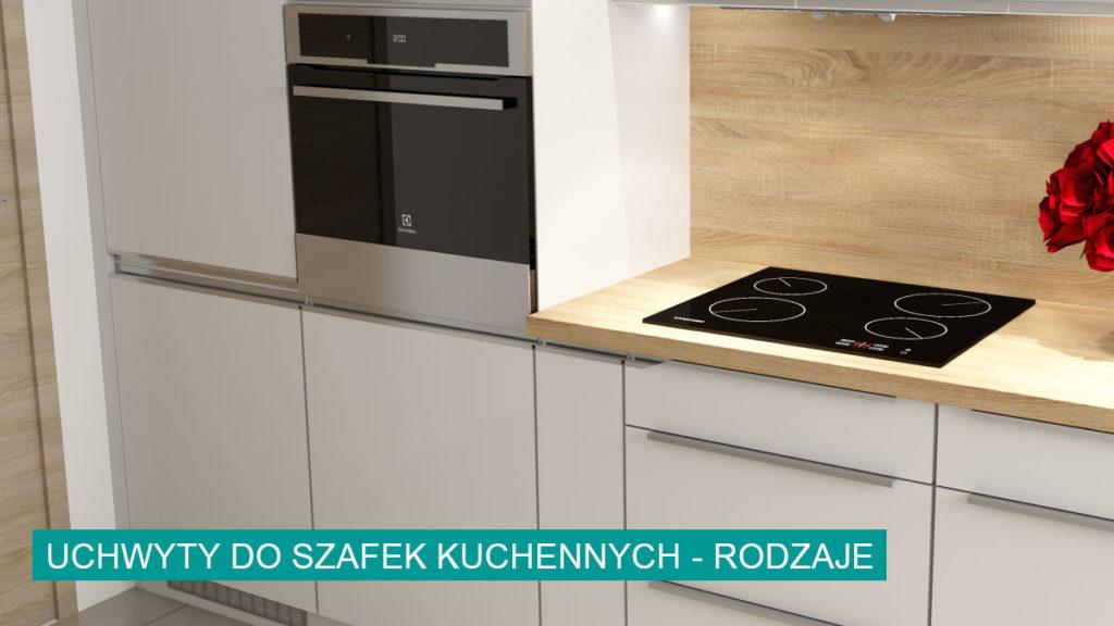 Uchwyty do szafek kuchennych rodzaje | koncept3d projekty kuchni