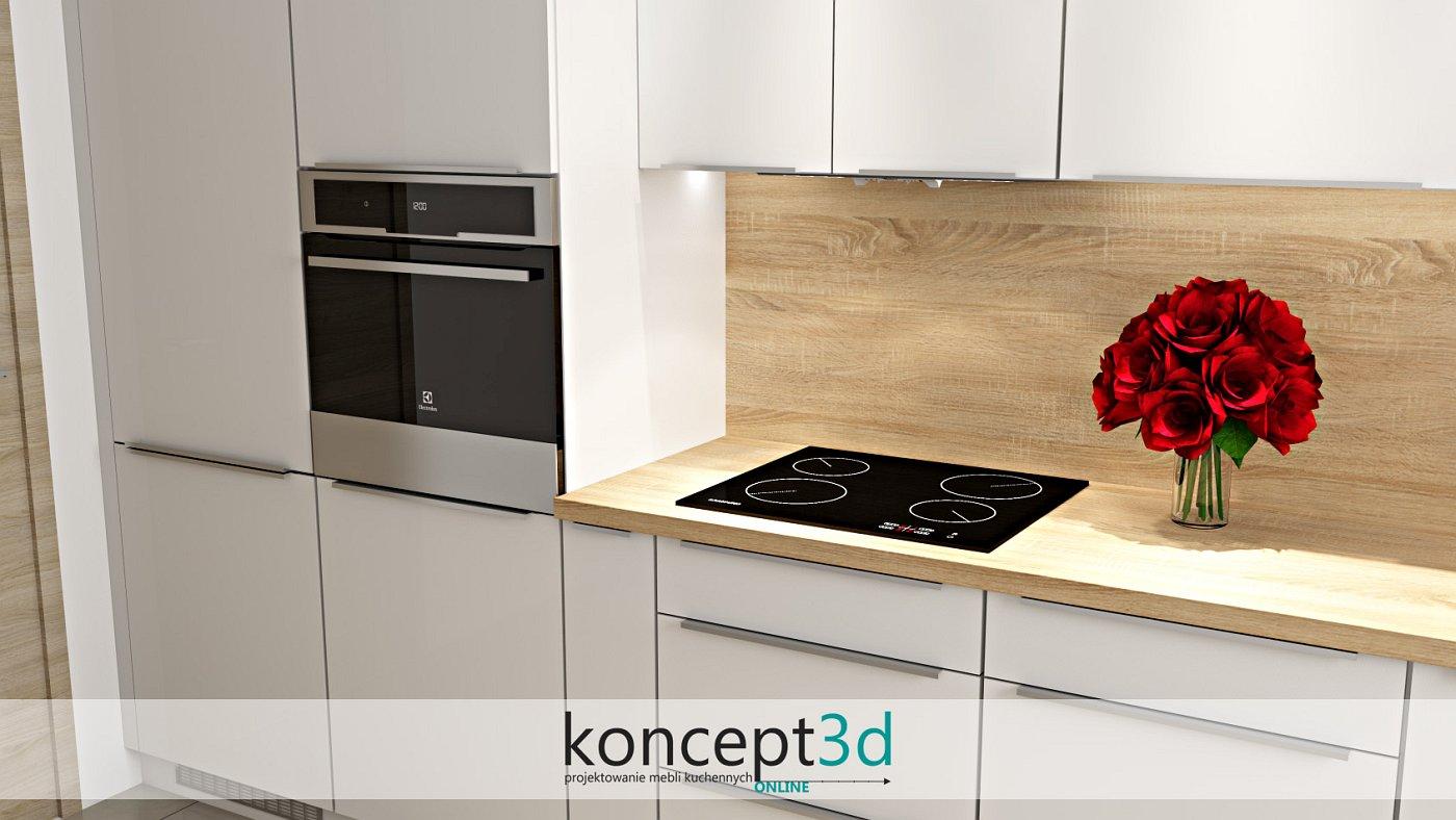 Uchwyty UKW11 to przykręcane od tyłu frontu listwy uchwytowe | koncept3d projekty kuchni