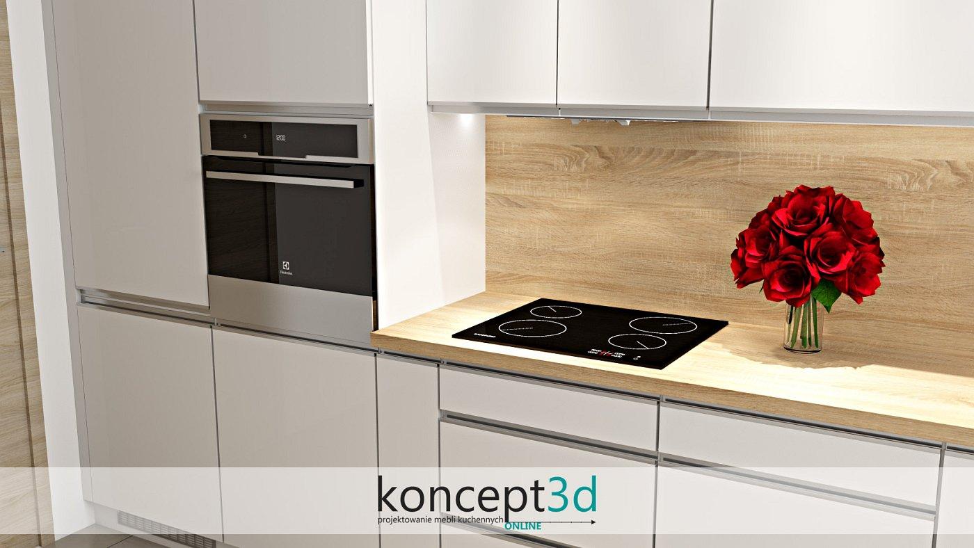Listwowe uchwyty UKW5 do szafek kuchennych | koncept3d projekty kuchni