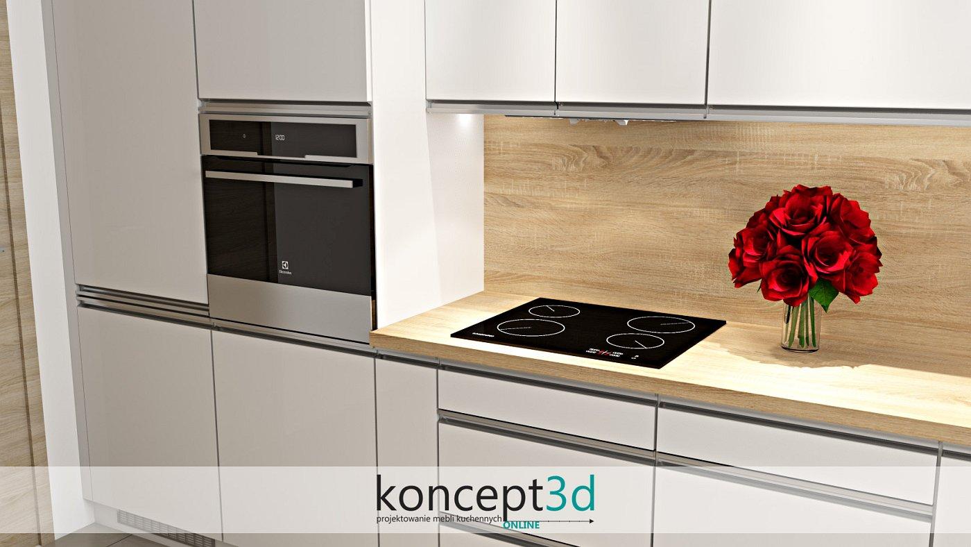 Listwowe uchwyty UKW7 do szafek kuchennych | koncept3d projekty kuchni
