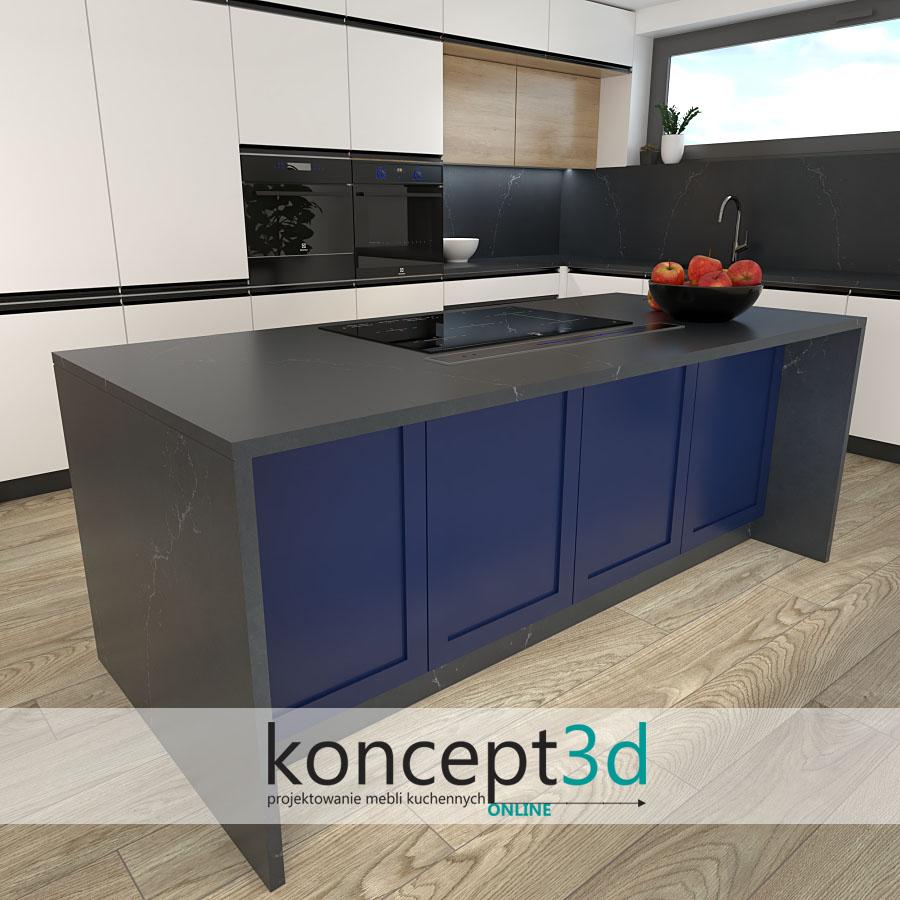 Projekty kuchni Warszawa | koncept3d