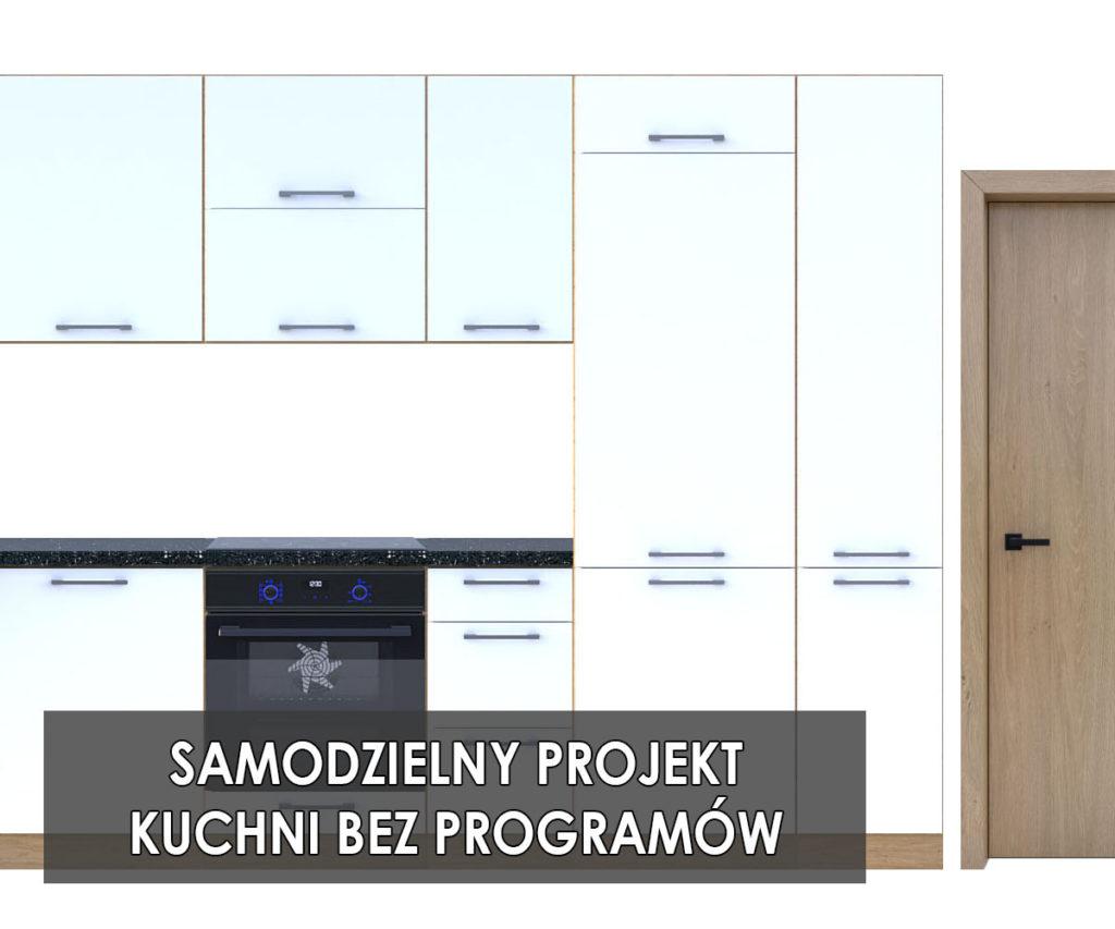 Samodzielny projekt kuchni koncept3d