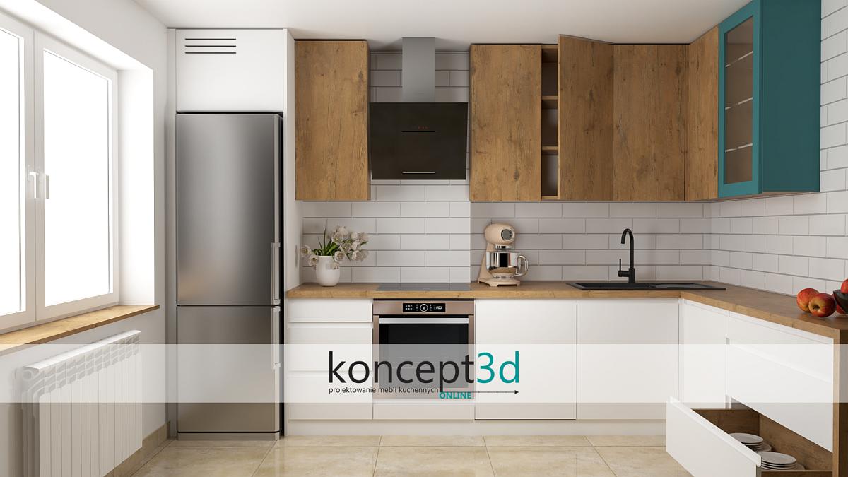 Кухни нестандартных размеров Катовице    concept3d