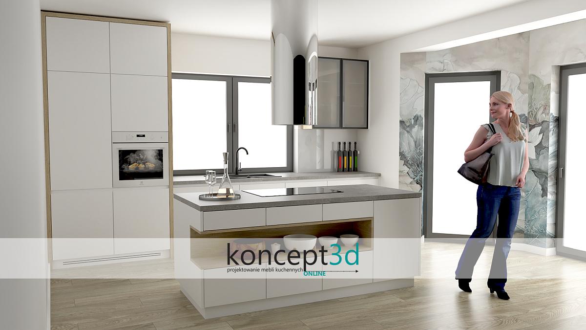 Кухни нестандартных размеров Краков    concept3d